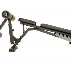 Универсальная силовая скамья для жима SILA10 + опция упор для пресса