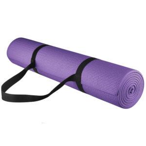 Коврик д/ йоги 173х61х0,3 см с чехлом для переноски