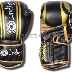 Перчатки боксёрские INDIGO Размер: 12 унций.