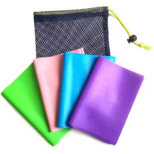 Комплект из 4-х эспандеров (в сумке) для аэробики 200 см х 15 см х 0,35/0,45/0,55/0,65 мм