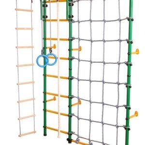ЮНЫЙ АТЛЕТ модель Пристенный с сеткой для лазания