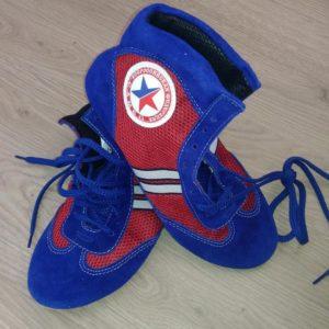 Обувь для самбо комбинированная