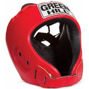 Шлем боксёрский зеленый Hill ALFA Красный S, M, L