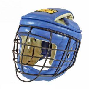 Шлем с маской ТИТАН-2 для АРБ, иск.кожа/иск.замша