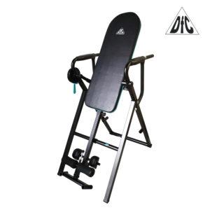 """Представляем уникальный инверсионный стол для домашнего применения DFC IT6000. Модель """"6-в-1"""". Данная модель стола позволяет выполнять следующие упражнения: - инверсионная терапия - подтягивания на турнике - отжимания на брусьях - подъем ног к животу - отжимания из положения лежа - отжимания из положения сидя под углом В комплекте со столом идут две удобные универсальные ручки, которые необходимо вставить в посадочное место перед выполнением нужного упражнения: вверху тренажера, в середине или внизу. Для жесткой фиксации инверсионного стола в нужном положении справа установлен замок с ручкой, который имеет два положения: открыт - закрыт. В открытом положении стол свободно вращается. В закрытом положении замок фиксирует стол, под любым углом. Очень удобно. И надежно. Стойка для ног регулируется под рост пользователя в диапазоне от 150 до 190 см. Ноги фиксируются с помощью удобных валиков и мягких упоров. Рама стола изготовлена из высококачественного стального профиля. Складная конструкция. Удобная мягкая спинка. Ремень безопасности. Инверсионные упражнения помогут Вам: Устранить или ослабить боль в спине Улучшить осанку Cнять стресс и напряжение в мышцах Снизить действие старения, вызванное силой тяжести Увеличить приток кислорода к головному мозгу Облегчить состояние при варикозном расширении вен Укрепить связочный аппарат Улучшить кровообращение и ускорить очищение крови и лимфатической жидкости Рост пользователя: от 150 до 190 см Вес пользователя (инверсия): до 140 кг Вес пользователя (силовые упражнения): до 100 кг Складная конструкция: да Фиксация стола в любом положении (замок) Размер в рабочем положении (исходное): 113 - 127 х 73 х 166,5 см Размер в рабочем положении (силовые): 113 х 73 х 189 - 218 см Размер упаковки: 118 х 71,5 х 15,5 см Объем упаковки: 0,131 м³ Вес нетто: 30 кг Вес брутто: 33 кг Бренд: DFC Страна производства: Китай Гарантия: 12 месяцев"""