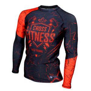 ТамбовТурник (самокаты, батуты и многое другое) Компрессионная одежда Рашгард для MMA Rusco Sport CROSS FITNES