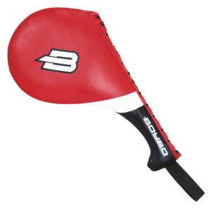 Лапа-ракетка тхэквондо BoyBo двойная красная
