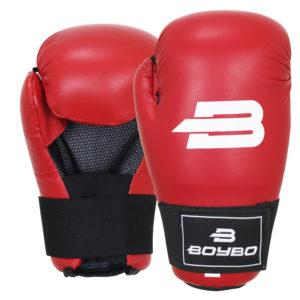 Перчатки для тхэквондо ITF/GTF BoyBo Красные