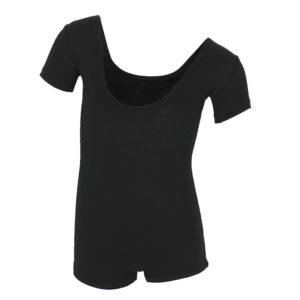 Комбинезон-шорты 032, х/б рукав короткий чёрн.